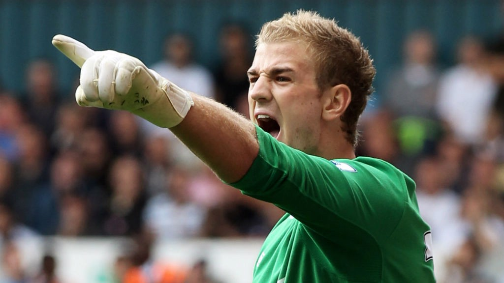 RETURN: Back from Birmingham, Hart was named MOTM vs Tottenham after a superb display at White Hart Lane.