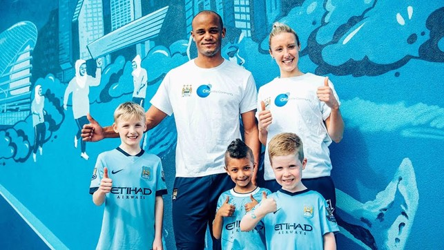 THUMBS UP: City in the Community.