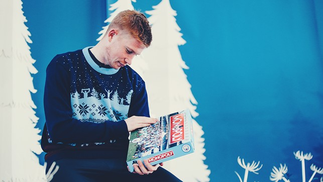 "PRESENTS FOR KDB: ""Merry Christmas ya filthy animal"""