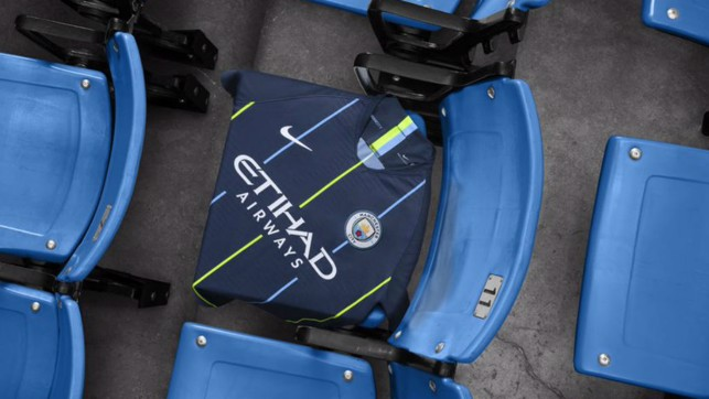LOOKING SHARP: City's new 2018/19 away shirt