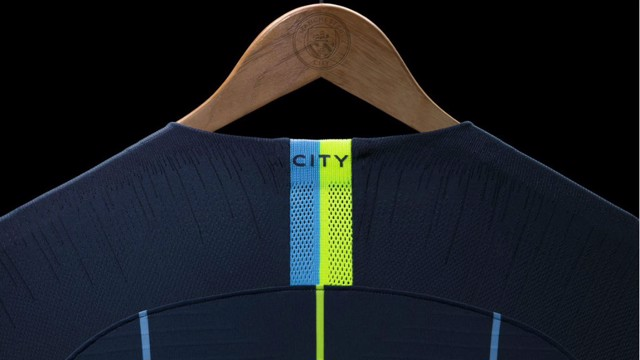 NAME GAME: City's new 2018/19 away carries echoes of the club's famous away shirt from the 1998/99 campaign