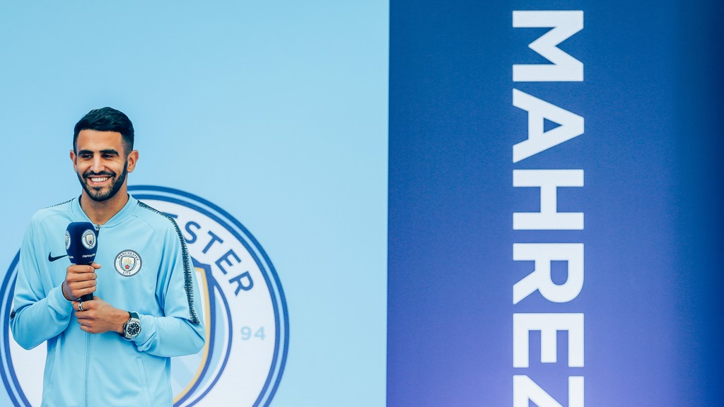 Riyad Mahrez ready to lead Champions League charge for Manchester City