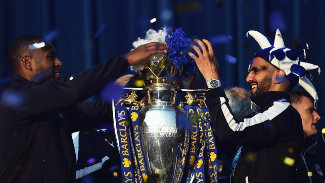 PARTY TIME: A night out with the Premier League title!