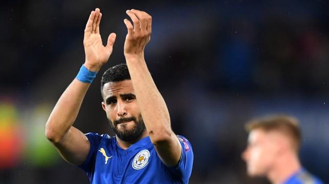 FAREWELL: Applause for the Leicester faithful
