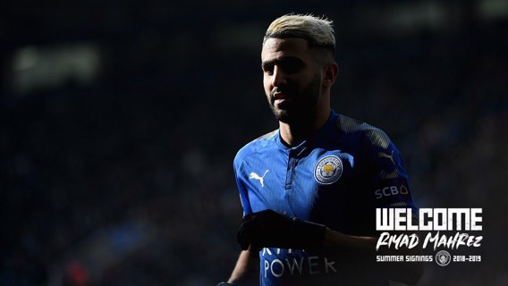 LOOKING BACK: Riyad Mahrez's career gallery in pictures...