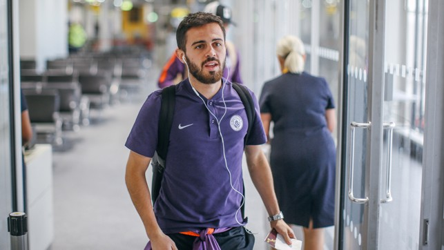 CHAMPIONS LEAGUE READY: Bernardo Silva.