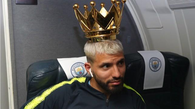 KING KUN: Sergio Aguero is the Premier League crown prince!