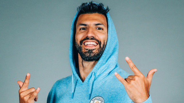READY FOR MORE CHALLENGES: Sergio Aguero