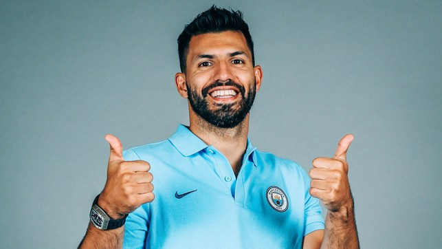 THUMBS UP: Sergio feels the best he has in years