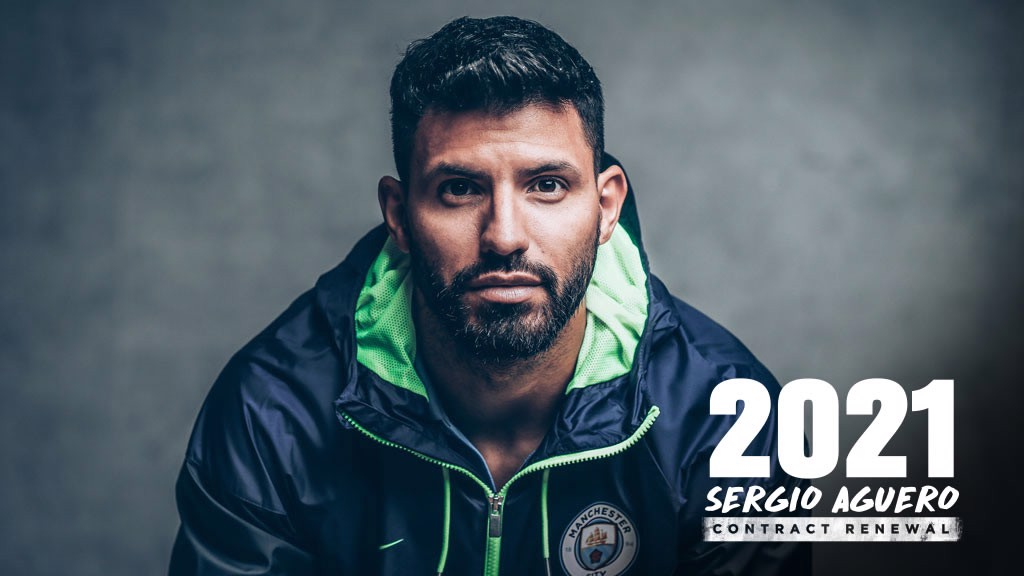 AGUERO 2021: Sergio has extended his current contract