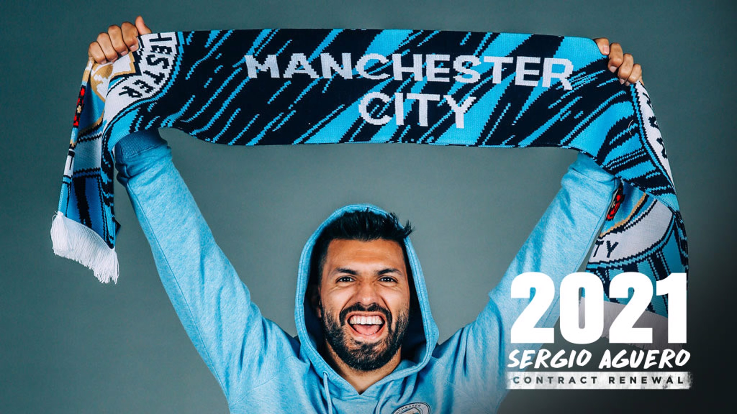 TRUE BLUE: Sergio Aguero