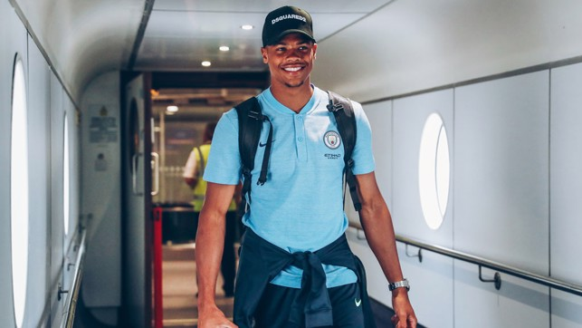 STEPPING UP: Lukas Nmecha is ready for more senior minutes, having made his Premier League debut in April