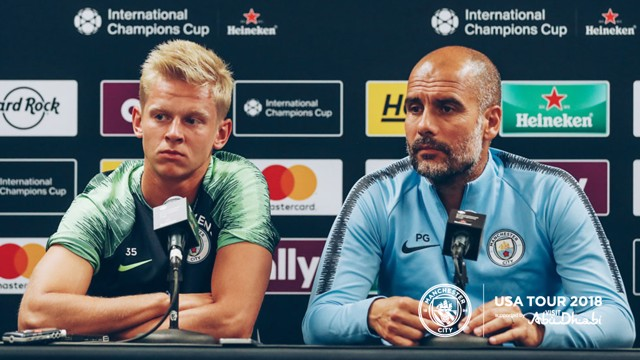 PRESS CONFERENCE: Pep Guardiola and Oleksandr Zinchenko talk to the media ahead of our match against Borussia Dortmund