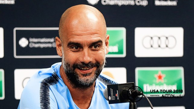 PRESS CONFERENCE: Pep Guardiola speaks to the media ahead of City v Bayern