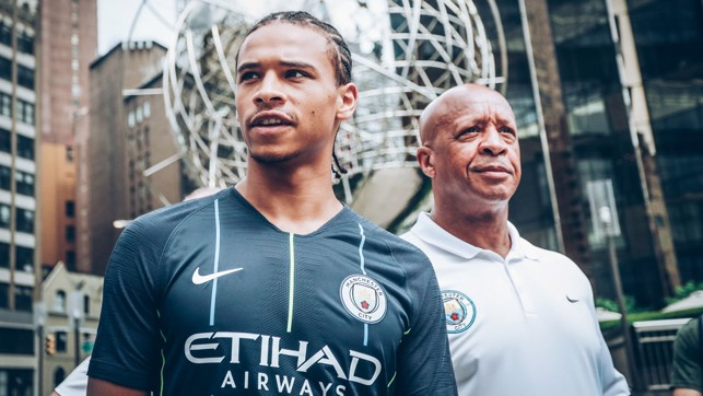 KITTED OUT: Sane looking fresh