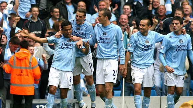 MATCH WINNER: Geovanni wrote his name into derby folklore with a winning goal in 2007.