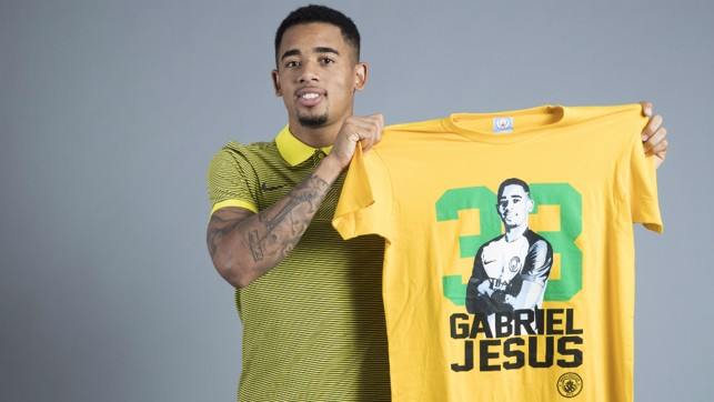 MELLOW YELLOW: There's a new face adorning shirts at the City Store