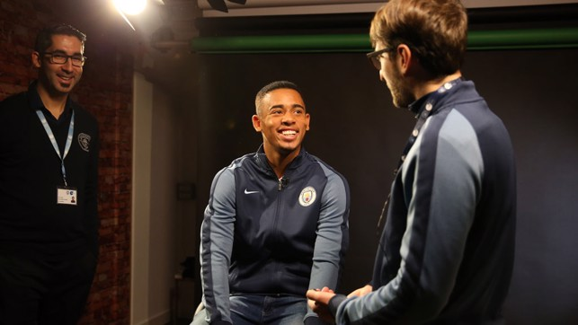 ON CAMERA: Meeting CityTV, ready for his first interview