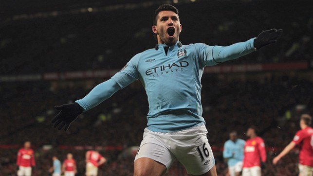 SUPER SUB: But, it was Sergio who had the final word.