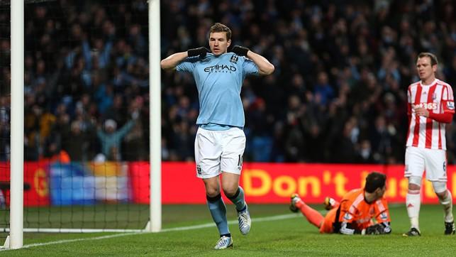 EDIN DZEKO: 2012/13 - 14 Goals