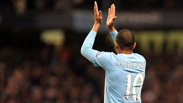 ROBINHO: 2008/09 - 14 Goals