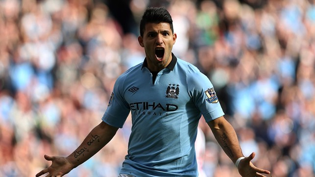 SERGIO AGUERO: 2011/12 - 23 Goals