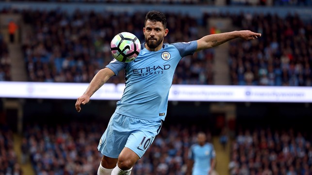 SERGIO AGUERO: 2014/15, 2015/16 and 2016/17: 26, 24 and 20