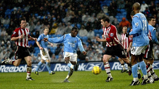 SHAUN WRIGHT-PHILLIPS: 2004/05 - 10 Goals