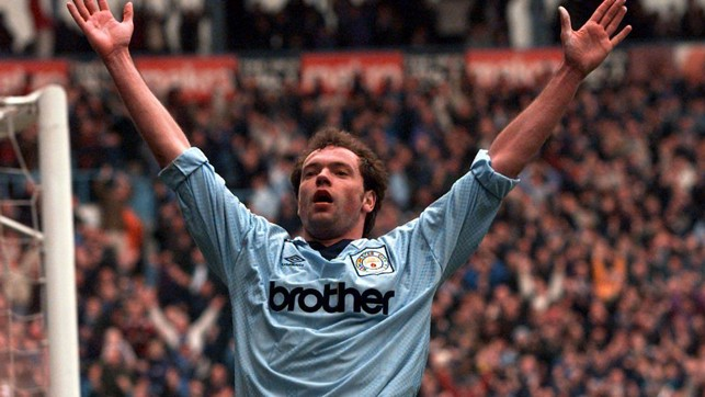 UWE ROSLER: 1994/95 and 1995/96 - 15 Goals and 9 Goals
