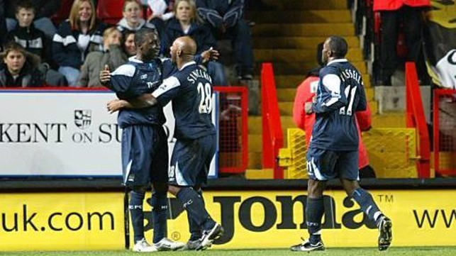 WHAT A PERFORMANCE: City were able to score five against Charlton in 2006