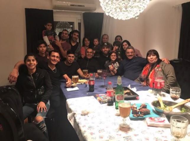 FAMILY TIME: Dinner at the Otamendi residence