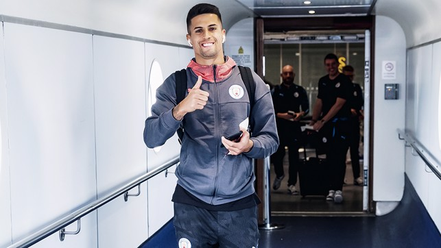 Joao Cancelo - poised for his City debut?