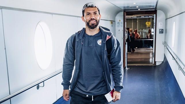 Happy Sergio - City's top scorer (yet again)