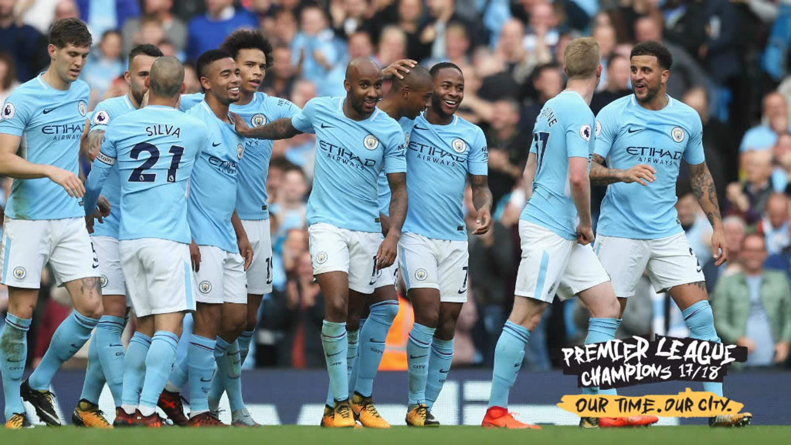 JOB DONE! City are champions
