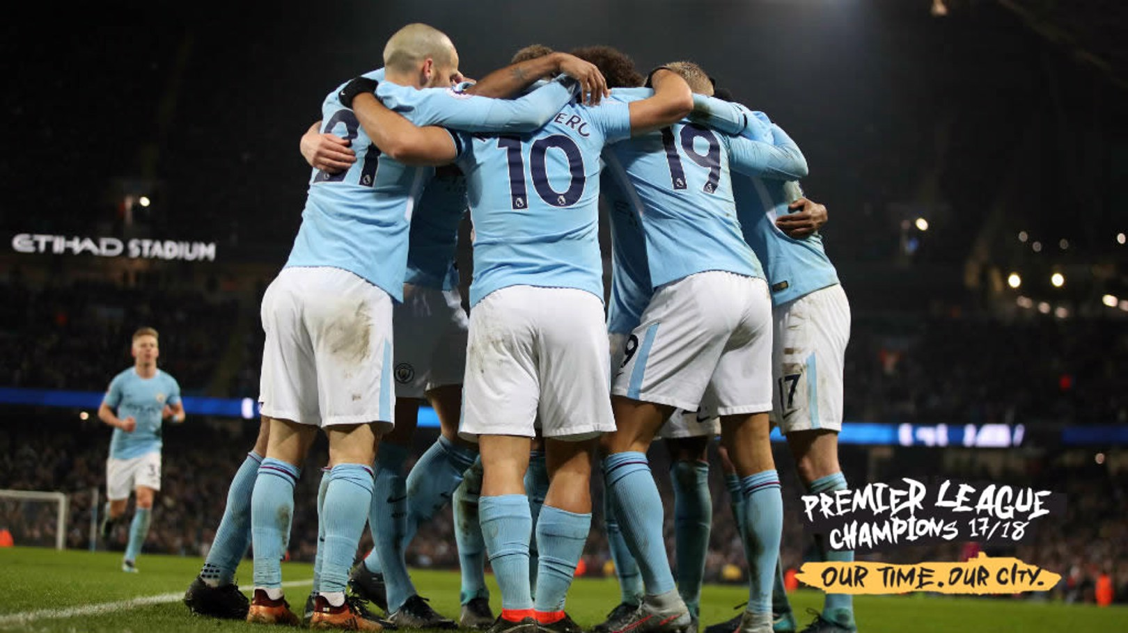 CHAMPIONS: Manchester City