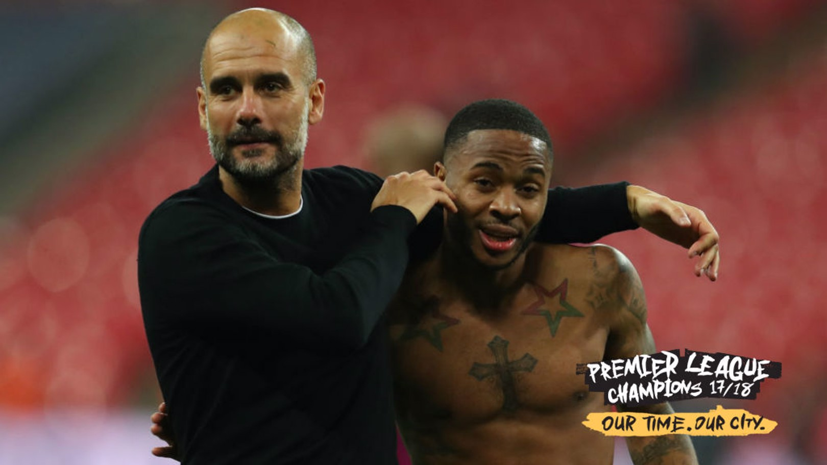 CHAMPIONS: Pep could not be happier with his City players this season