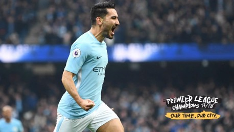 RAISING THE GAME: Ilkay Gundogan