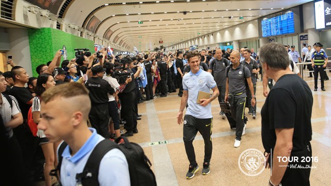 BRUNO: Zuculini is happy to be in China