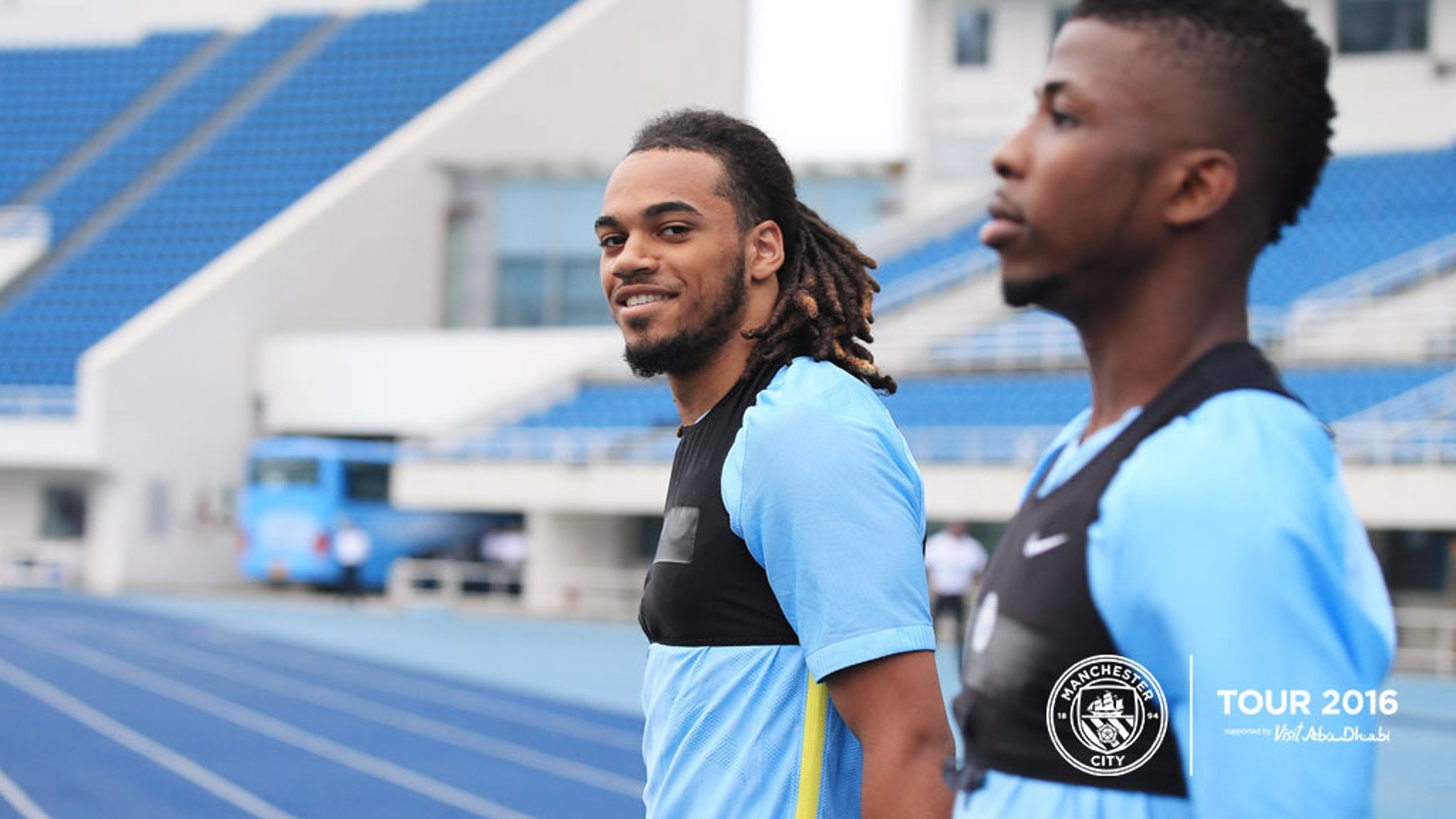 BOY BLUES: Jason Denayer and Kelechi Iheanacho