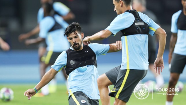 NOLITO: New signing into the tackle