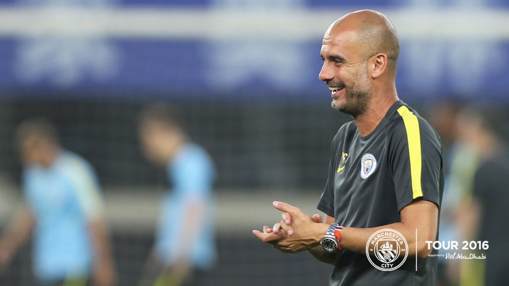 PRESS CONFERENCE: Pep faces the media in Shenzhen