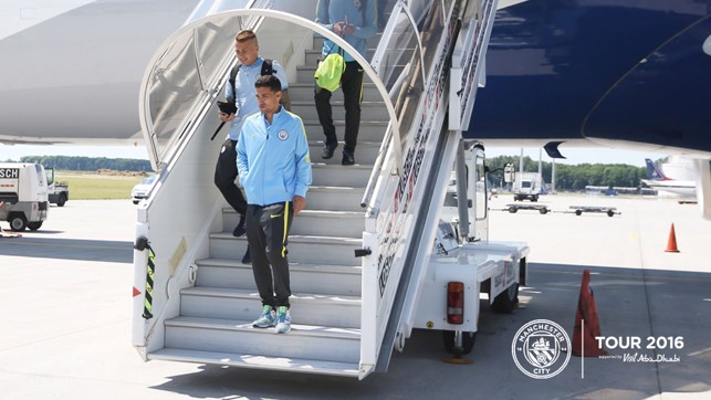 ONE STEP FORWARD: Pep Guardiola will be hoping for a positive performance to kick off the pre-season tour.
