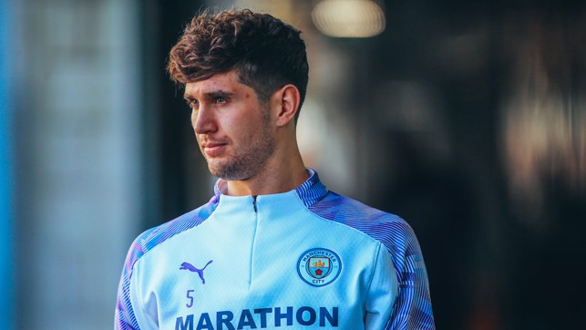 MADE OF STONES: John Stones heads out
