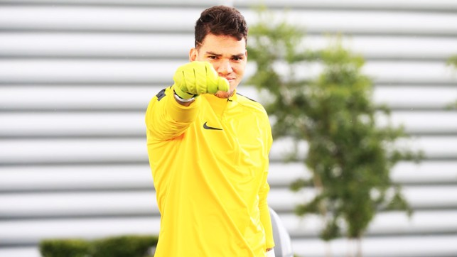POW: Ederson is ready to go