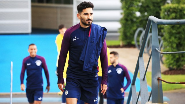 ILKAY: German midfielder heads to the pitches