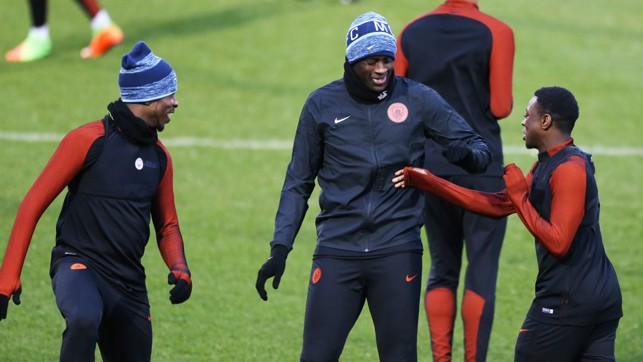 YAYA IN THE MIDDLE: The Ivorian holding court
