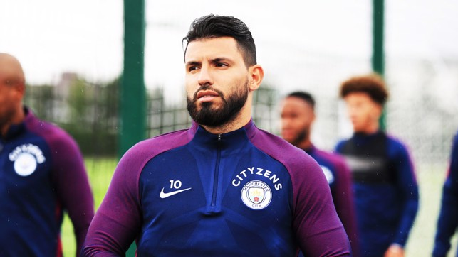 SERGIO'S SEVEN: Kun begins his seventh pre-season with the Club.