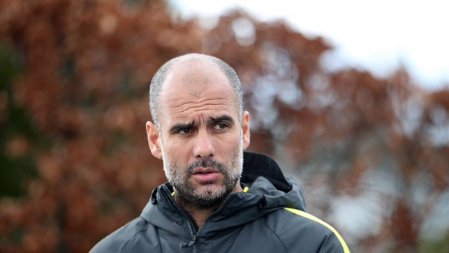 BOSS: Pep has Sunday on his mind