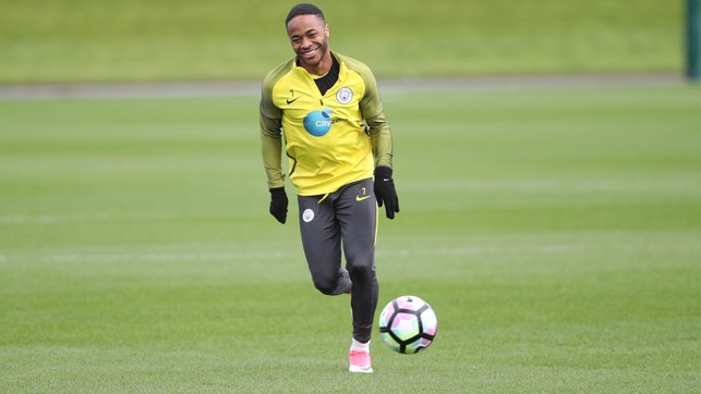 RAZ: Sterling enjoying Friday's session