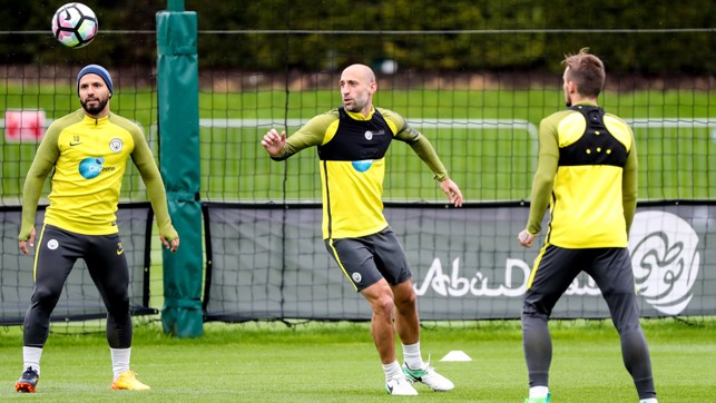 FINAL FURLONG: Pablo Zabaleta is nearing the end of his time with City